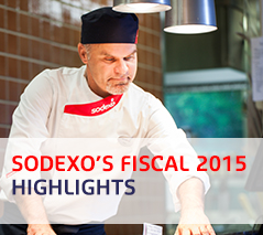 Sodexo's Fiscal 2015 Highlights