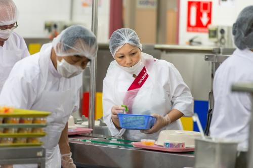 Sodexo On-site Services: Quality of Life above all