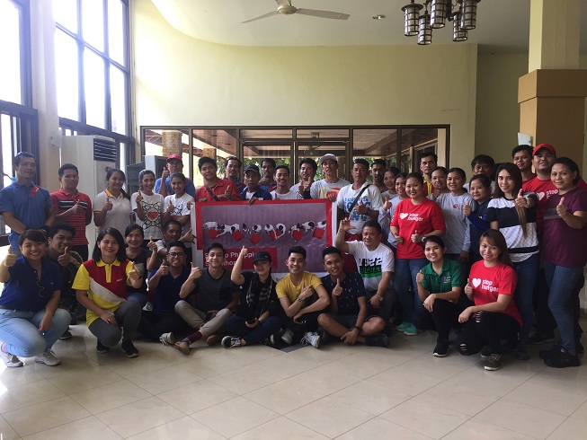 Our employee volunteers from Batangas